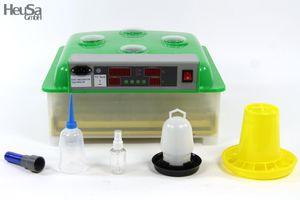 Inkubator VOLLAUTOMATISCH BK48Pro + Zubehör, 48 Eier, Brutautomat, Brutmaschine
