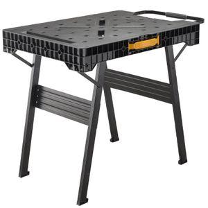 STANLEY FatMax FMST1-75672 Werkbank Express klappbar - Werktisch sehr belastbar und leicht zu transportieren, ein Arbeitstisch für jede Baustelle
