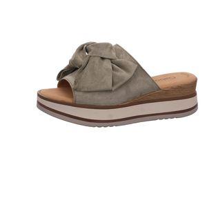 Gabor Damen Pantolette Sandalen Hausschuhe Clogs Slipper grau 64.681.19 : 4