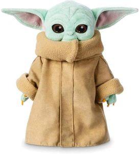 Baby Yoda Stofftier,Plüschtiere Weiche Stoffpuppen 30 cm,The mandalorien Gefüllte Puppe Baby Yoda Spielzeuge Für Kinder