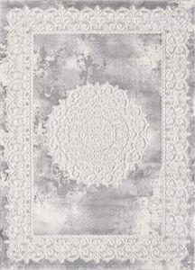 Sanat Teppich Harmony 3205 Light Grey rechteckig in Orient-Optik 160 x 220