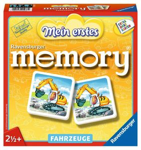 Mein erstes memory® Fahrzeuge Ravensburger 21437