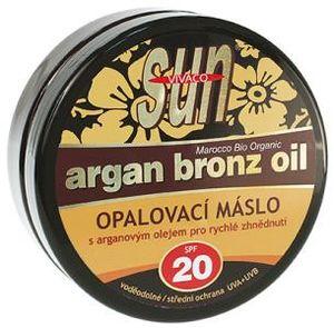 Vivaco SUN Bräunungsbutter mit Bio-Arganöl SPF 20 200 ml