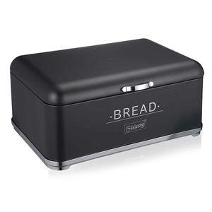 Brotkasten Brotbehälter Frischhaltebox Brotbox Feel Maestro Brotkästen BREAD schwarz