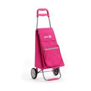 Einkaufstrolley Einkaufswagen Einkaufsroller Trolley Roller Rosa GIMI ARGO COLOR