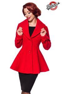 Belsira Premium Woll-Jacke rot M