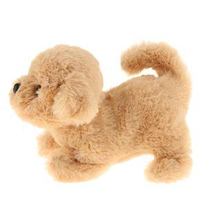 Plüsch Roboterhund Elektrisch Hund Spielzeug mit Batteriebetrieben, ca. 17 x 14 x 11 cm Farbe Golden Retriever