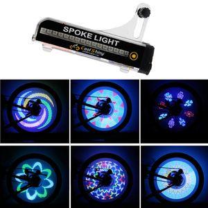 32 LED Motorrad Fahrrad Fahrrad Fahrrad Rad Signal Reifen Speichenleuchte 21 Änderungen SCY70208102