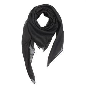 Baumwolltuch - schwarz - quadratisches Tuch