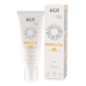 Eco Cosmetics Sonnenspray LSF50 getönt Q10 100ml