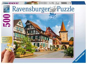 500 Teile Ravensburger Puzzle Gold Edition Gengenbach im Kinzigtal 13686