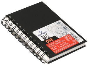 CANSON Skizzenbuch ARTBOOK ONE DIN A5 80 Blatt schwarz