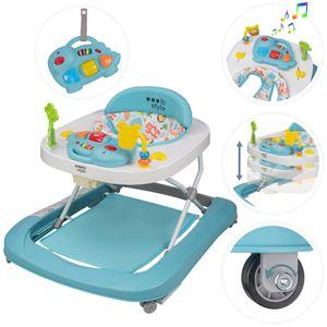 ib style® LITTLE DINO Babywalker Gehfrei abnehmbares Spielzeug Lauflernhilfe Laufwagen