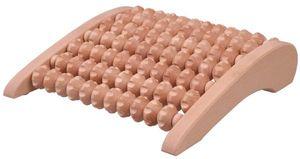 Fußmassage Massage Fußmassageroller Fuß Massageroller asymmetrisch Holz 28x26 cm