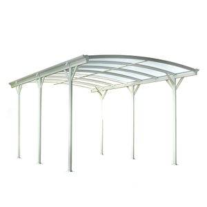 Design Carport FALO - Weiß