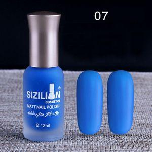 12ml Matte Dull Nagellack Fast Dry Long Lasting Nail Art Matte Nagellack Gel