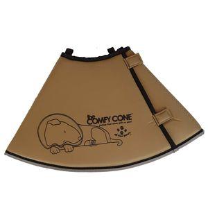 All Four Paws Hundekragen Comfy Cone L 25 cm Hellbraun