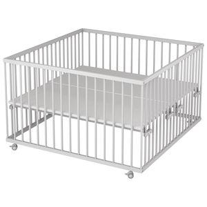 Sämann® Laufgitter 120x120 cm, weiß