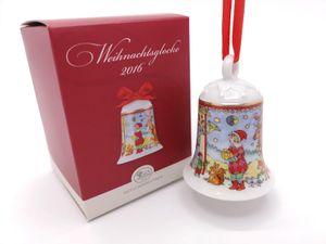 Porzellanglocke Weihnachtsglocke 2016 - Hutschenreuther - in