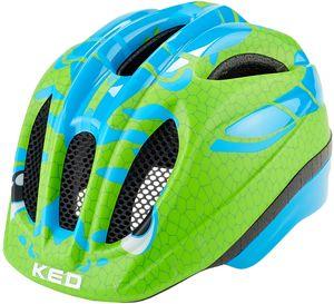 KED Meggy II Trend Helm Kinder dino light blue green Kopfumfang S/M   49-55cm