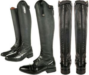 HKM Reitstiefel -Sevilla- Standardlänge/-weite, Farbe:9100 schwarz, Größe:44