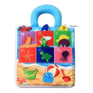 Weiche Bücher Für Kleinkinder, Aktivität Zum Anfassen Und Fühlen, Sicher Und Ungiftig, Kinderbücher Für Die Frühkindliche Entwicklung   Sommer