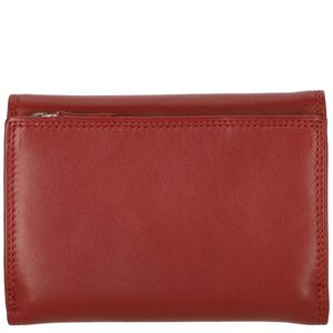 Golden Head Polo Outside Sectioned Coin Pocket With Zipper Red