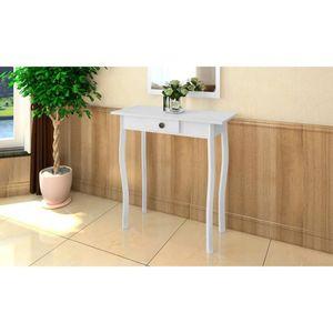 【Neu】Beistelltische Konsolentisch MDF Weiß Gesamtgröße:73 x 36 x 73 cm BEST SELLER-Möbel-Tische-Ziertische-Beistelltische im Landhaus-Stil