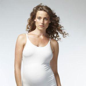 Noppies Schwangerschafts- und Still-Top, weiß, Größe M/L