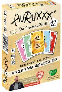 AURUXXX - Die Goldene 12 - Kartenspiel - Familienspiel ab 8 Jahren - Gesellschaftsspiel - Kinder - Erwachsene