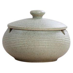 Keramik-Aschenbecher mit winddichtem Deckel für den Innen- und Außenbereich Hellblau 11x8cm Keramik Aschenbecher mit Deckel