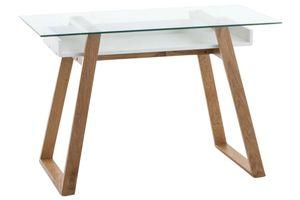 Schreibtisch Ryan, Farbe:weiß