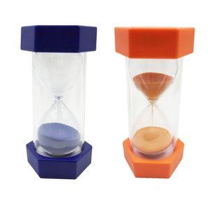 2 Stück 5+10 Minuten Sanduhr Zahnputzuhr Sand Timer Uhr Zahnuhr Küche Timing Werkzeug