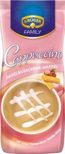Krüger Family Cappuccino Haselnusscrème- Waffel | 500-g-Beutel