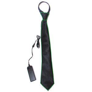 Dance Bar Flash Tie 10 Farbe Optional EL Luminous Tie[]