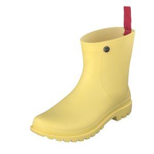 Gosch Shoes Sylt Damen Halbschaft Gummistiefel 71026-Gesa Wasserdicht Gelb