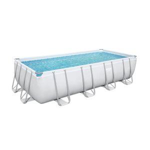Bestway Power Steel™ Frame Pool Komplett-Set, eckig, 549x274x122cm, 56465