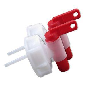 2 x AFT-Hahn, Auslaufhahn Kunststoff DIN Norm 61 (2x Hahn 61)