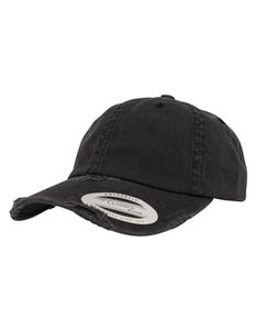 Low Profile Destroyed Cap / Extra tiefe Form - Farbe: Black - Größe: One Size