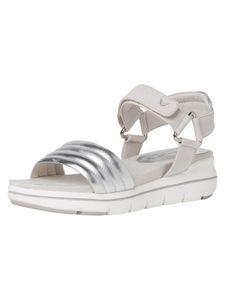 Marco Tozzi Damen Sandale grau 2-2-28554-24 F-Weite Größe: 38 EU