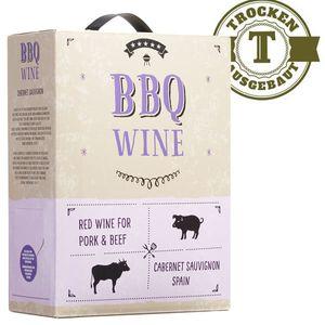 Rotwein Spanien Cabernet Sauvignon BBQ Wine  Bag in Box  trocken (1x3 L)