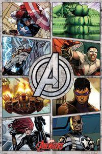 Avengers Comic Maxi Poster Marvel