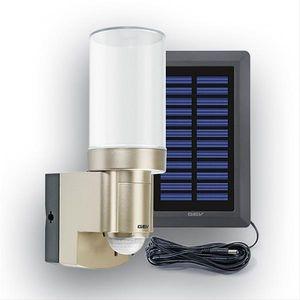 Solar-Leuchte GEV LPL 14831 mit Bewegungsmelder und Alarm champanger
