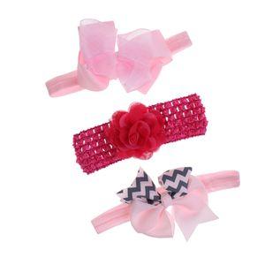 1 Set Baby Stirnband Rosa
