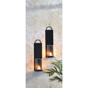 2er Set Wandkerzenhalter Kerzenhalter Teelichthalter Windlicht Teelicht Wand