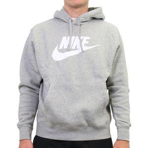Nike Sportswear Club Fleece Hoodie Herren Grau (BV2973 063) Größe: L