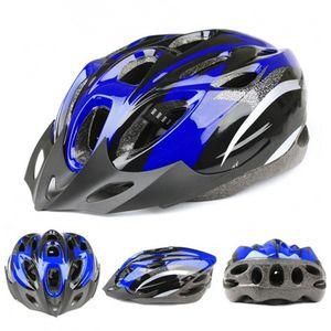 Kopfumfang 52-60 cm Damen Herren Fahrradhelm Rennrad Erwachsene BergFahrrad Blau