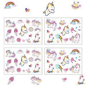 Oblique Unique 60 Einhorn Unicorn Sticker Aufkleber Set Deko Kinder Geburtstag