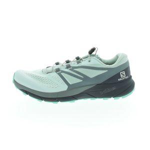 Salomon Sense Ride 2 Trail Laufschuh Damen Erwachsene mint / dunkelgrün 7 UK - 40 2/3 EU - 8.5 US
