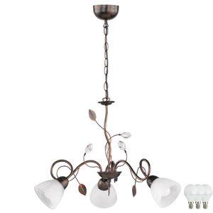 Landhaus Stil LED Hängeleuchte für das Esszimmer